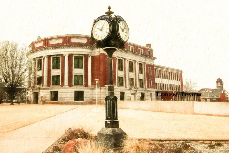 Historic Payne County Court House